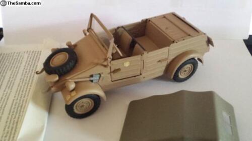Vintage VW82 KUBELWAGEN Kuebelwagen 1//24 KADEN GONIO WW2 NOS Africa