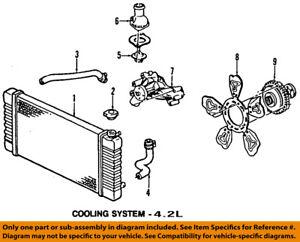 gm oem engine cooling fan clutch 25790869 ebay rh ebay com GM Parts List Find GM Part Numbers
