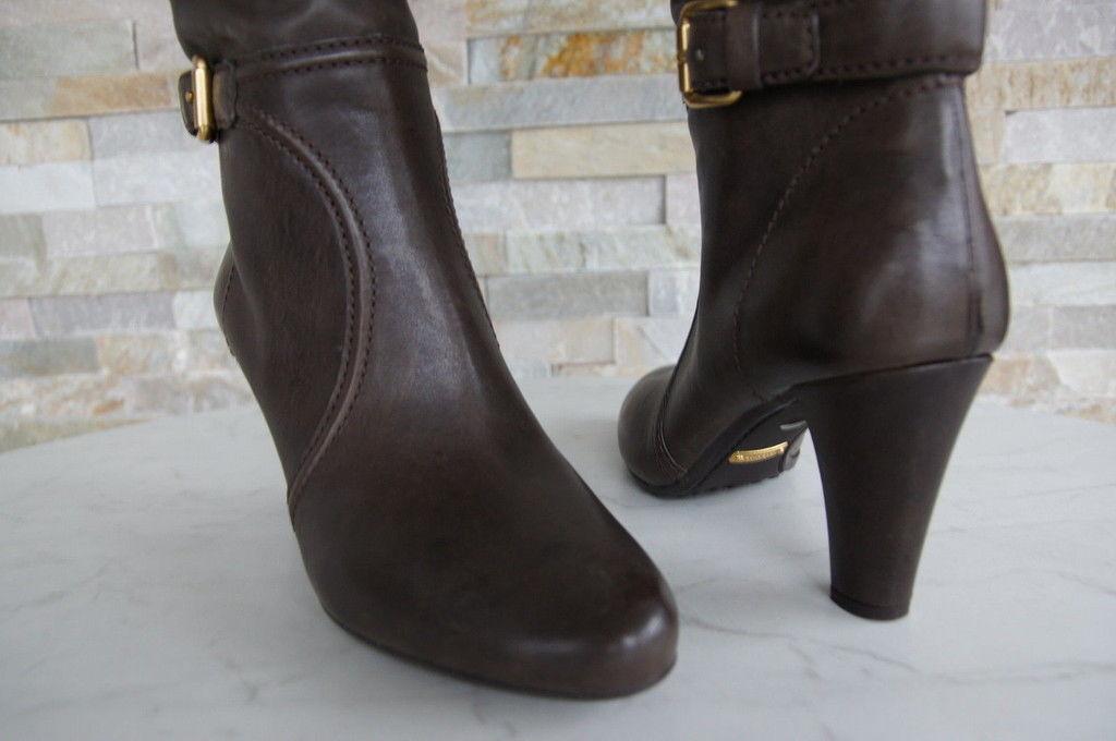 CAR schuhe Stiefel Gr 41 41 41 Stiefel Stiefel Schuhe graubraun grafite neu ehem. a631db