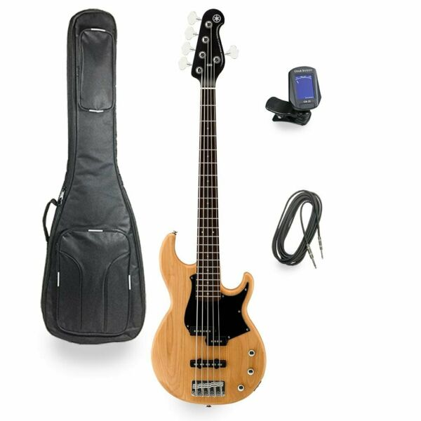 yamaha bb235 5 string electric bass guitar broken tuner for sale online ebay. Black Bedroom Furniture Sets. Home Design Ideas