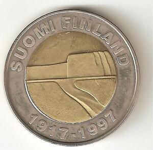 Finlandia 25 marchi 1997 bimetallica perfetta - Italia - Finlandia 25 marchi 1997 bimetallica perfetta - Italia