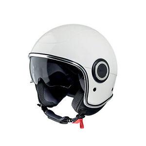 VESPA-605915M0-B-S-Casco-Vespa-VJ1-Bianco-TAGLIA-S-Vespa-VJ1-White-Helmet-S