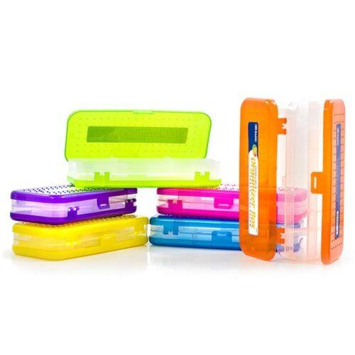 """BAZIC 8/"""" Bright Color Double Deck Organizer Box"""