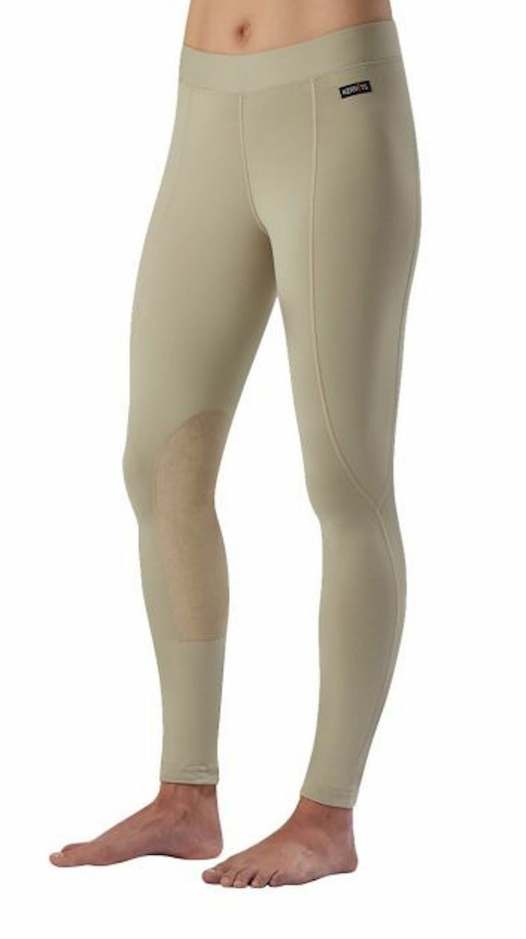 Kerrits Flow  Rise Performance Tight-Tan-M  gorgeous