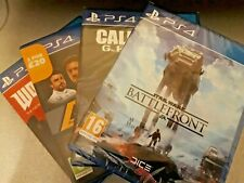 Call of Duty Ghosts PS4, Star Wars Battlefront, F1 2017 & Wolfenstein Joblot
