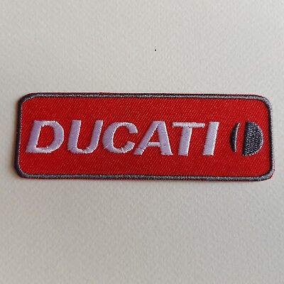 DUCATI 10*3,5 CM A425 //// ECUSSON PATCH AUFNAHER TOPPA NEUF