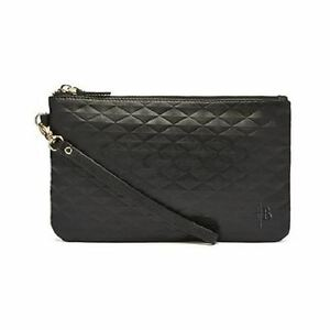 Image Is Loading Mighty Purse Diamond Black Genuine Leather Cell Phone