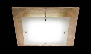 PLAFONIERA-LAMPADA-LED-da-soffitto-design-oro-conica-salotto