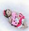 "22 /""Reborn Baby Dolls Full Body Vinyl Silicone Girl Doll Realistic Newborn Gift"