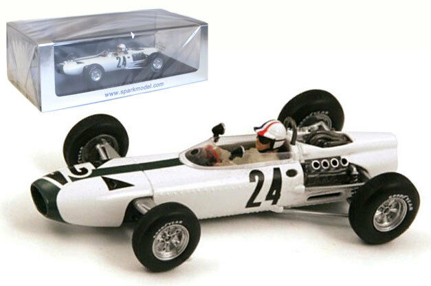 Spark S1159 BRM P261   24 Belgium Gp 1966-Bob Bondurant, échelle 1 43,