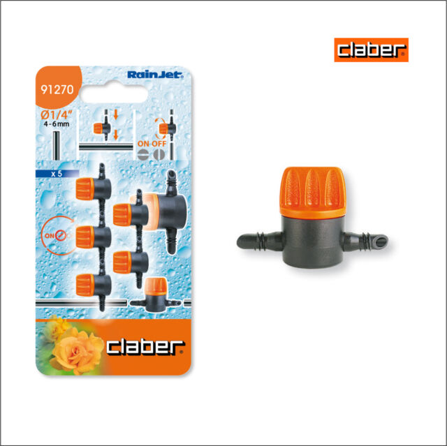 multipack savings available! Claber 0-6l//h inline drippers for 6mm pipe