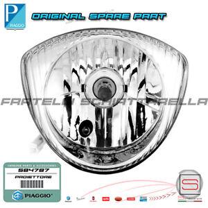 Proiettore-Faro-Gruppo-Ottico-Originale-Piaggio-Liberty-Fly-125-150-200-58258R