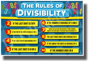 Divisibility-Rules-NEW-Classroom-Math-Educational-POSTER-ms061