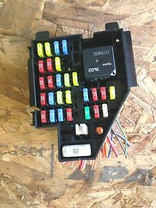 Details about 2003 chevy cavalier dash end fuse box panel / relay center on
