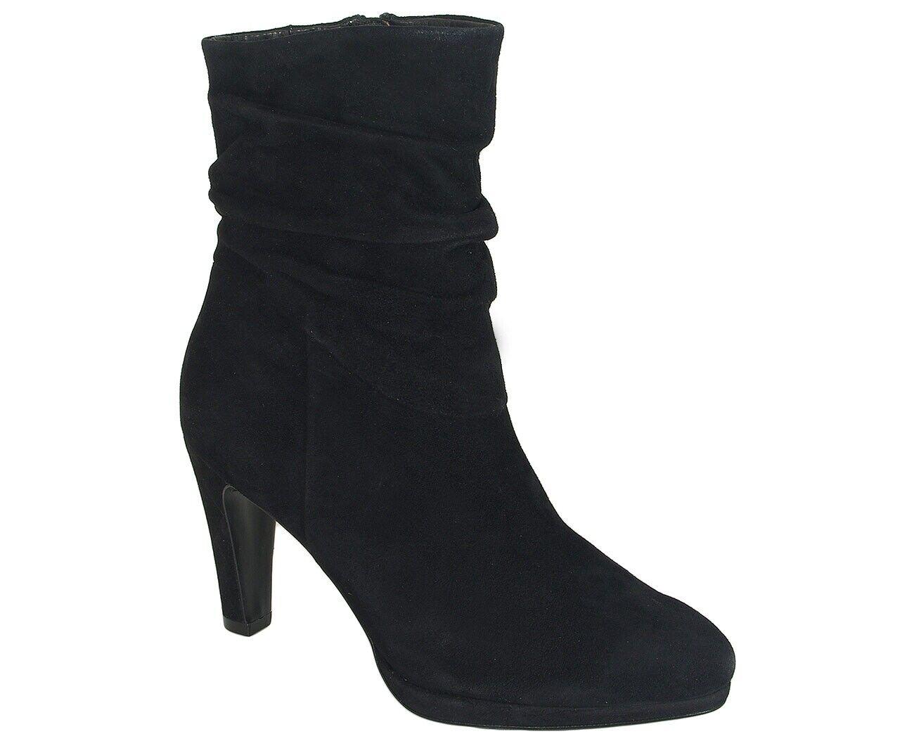 rotuzierung Caprice 25303 Stiefelies schwarz suede
