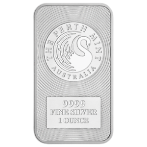 Perth-Mint-Kangaroo-1oz-SILVER-Bullion-Bar-99-99-pure-FREE-TRACKED-POST
