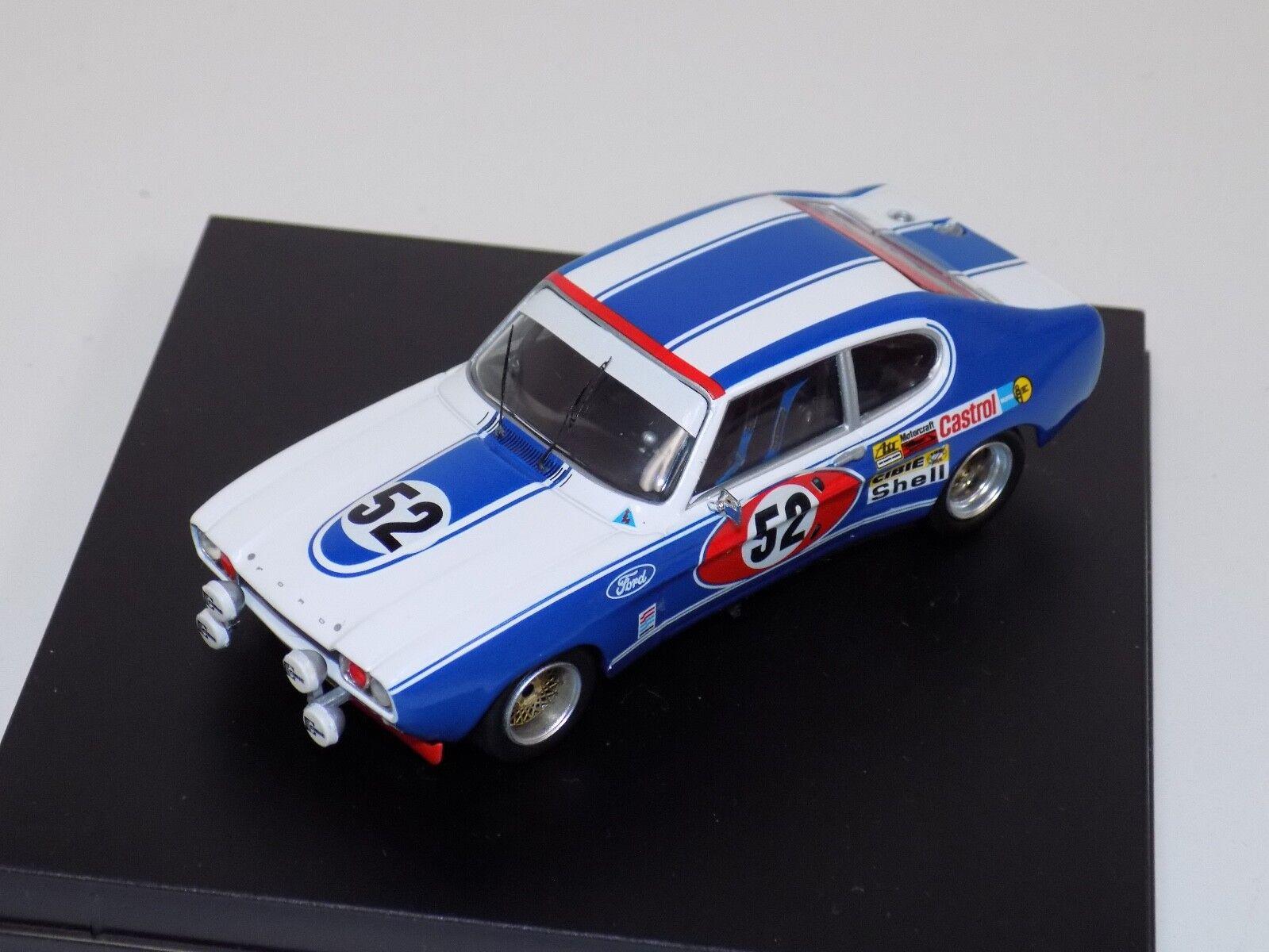 1 43 trofeu ford capri 2600 RS 1972 le mans voiture  52 TRF 2302