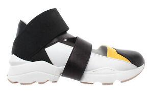 premium selection 3d669 28e51 Dettagli su Scarpe Donna iXOS Sneakers Multicolor Bianche Open Pelle Slip  On Nuove