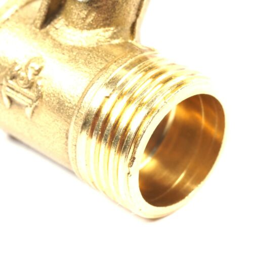 """3//8/"""" Male Brass To 10mm Hose Barb Shut Off Valve Cock Tap Inline Ball Valve Gas"""