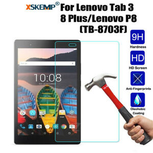 For Lenovo Tab 3 8 Plus TB-8703F/P8  Real Tempered Glass Screen Protector Film