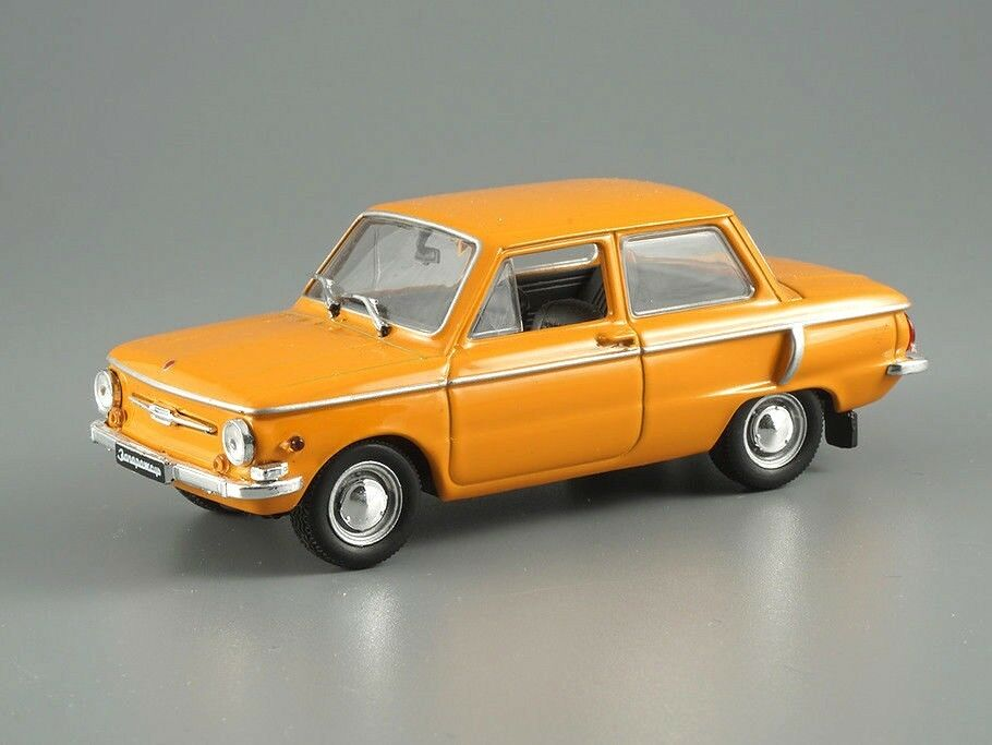 ZAZ-966 Zaporozhets Blue USSR 1966 Year 1//43 Scale Collectible Diecast Model Car