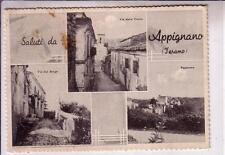 APPIGNANO FRAZIONE DI CASTIGLIONE MESSER RAIMONDO OPACA VIAG 1966  3 VEDUTINE