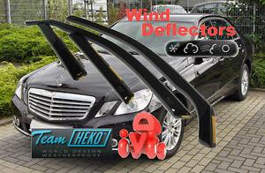 MERCEDES-E-W212-2009-4-doors-SALOON-SEDAN-Wind-deflectors-4-pc-HEKO-23275