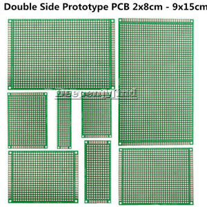 10PCS-2x8cm-9x15cm-Double-Side-Prototype-PCB-Bread-board-Tinned-Universal-FR4