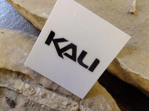 "BLACK LETTERS APPLY 1.5/"" KALI bike sticker decal ride bicycle MTB race"