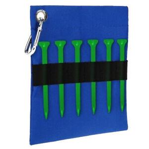Portable-Golf-Tee-Ball-Storage-Bag-Golf-Ball-Tees-Holder-Pouch-w-Clip
