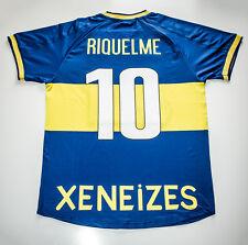 Camiseta Futbol Retro/ Riquelme Boca Juniors 2001 Final Intercontinental