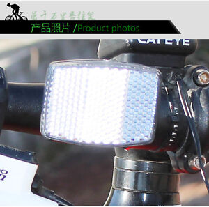 Bicycle Bike Road Cycle Reflector Light Reflective Strips Stick Front Rear Tool