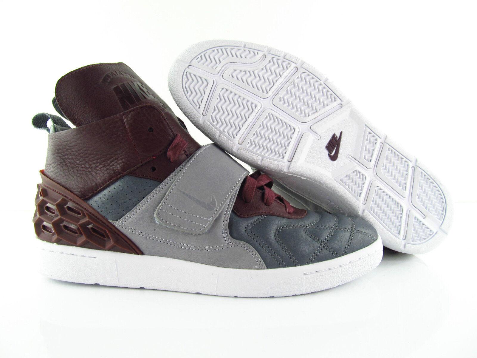 Nike Tieto VETTA QS Nikelab Wolf grigio Night Marroon rosso UK u 8 US _9 Eur _42.5