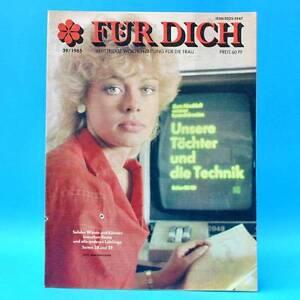 DDR-FUR-DICH-39-1985-Wolferbuett-Riesa-Merzdorf-Forst-Berlin-Buch-Jugoslawien