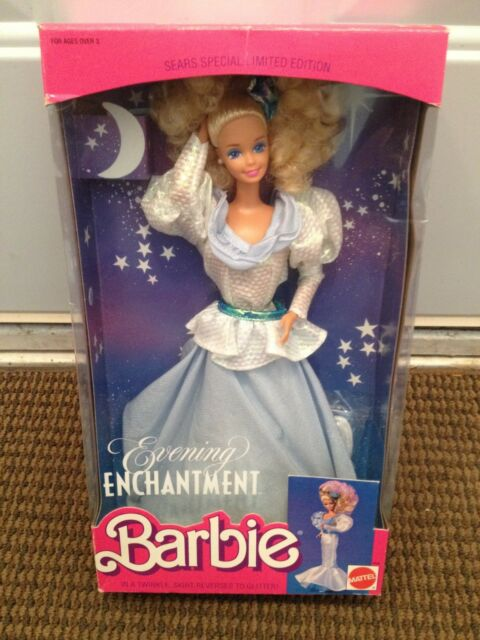 1989 SEARS EVENING ENCHANTMENT BARBIE - #3596 - FACTORY SEALED BOX