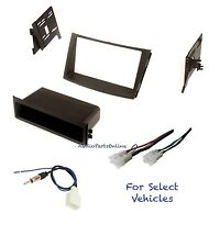 Car Stereo Radio Dash Kit Combo for some 2012 2013 2014 Subaru Legacy/Outback