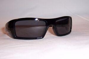 afa0f047b3 New Oakley Sunglasses GASCAN 03-471 BLACK GRAY AUTHENTIC OO9014 9014 ...