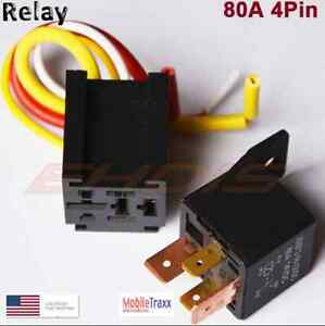 12V-80A-SPST-DC-Car-4-Pin-Relay-With-Harness