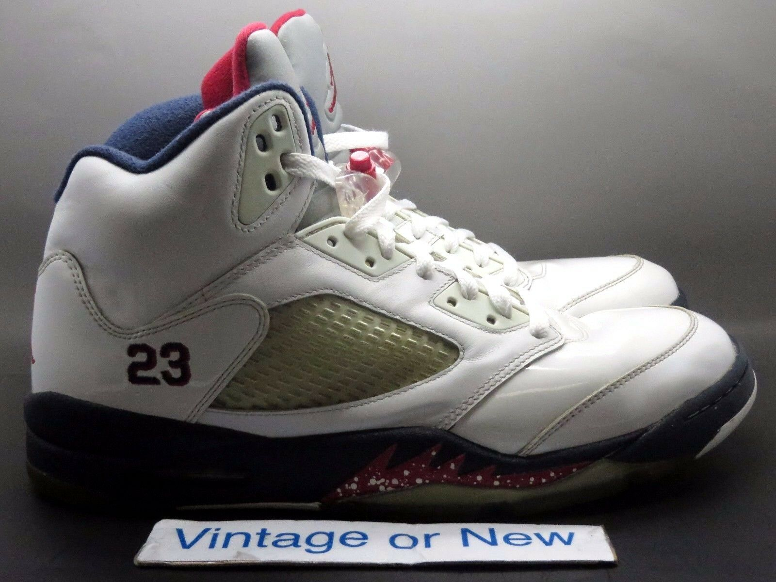 Air Olympic Jordan V 5 Independence Day Olympic Air Retro 2011 sz 12 d08314