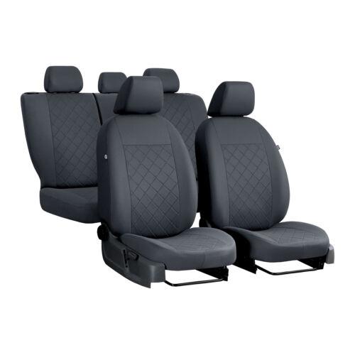 Autositzbezüge für Nissan Pulsar 14-18 5-Sitze Grau Komplettset Schonbezüge Auto