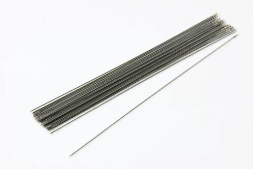 Perlennadeln 40//50//60//80//100 mm Fädelnadeln 5 Stk Perlen Nadeln Rocailles BB-70
