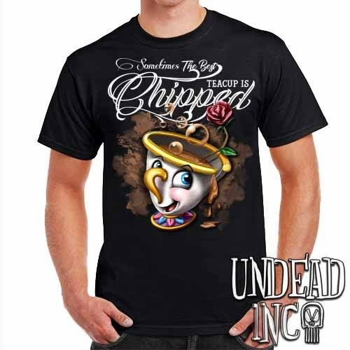 Beauty and the Beast Chip Teacup Mens T Shirt