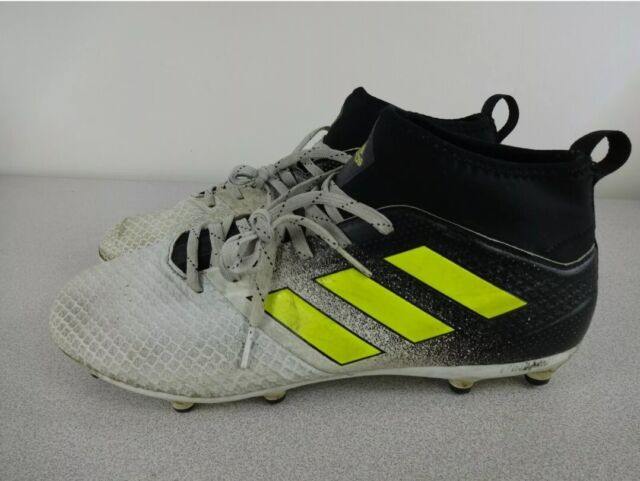 Size 10 - adidas Ace 17.3 FG White Solar Yellow for sale online | eBay