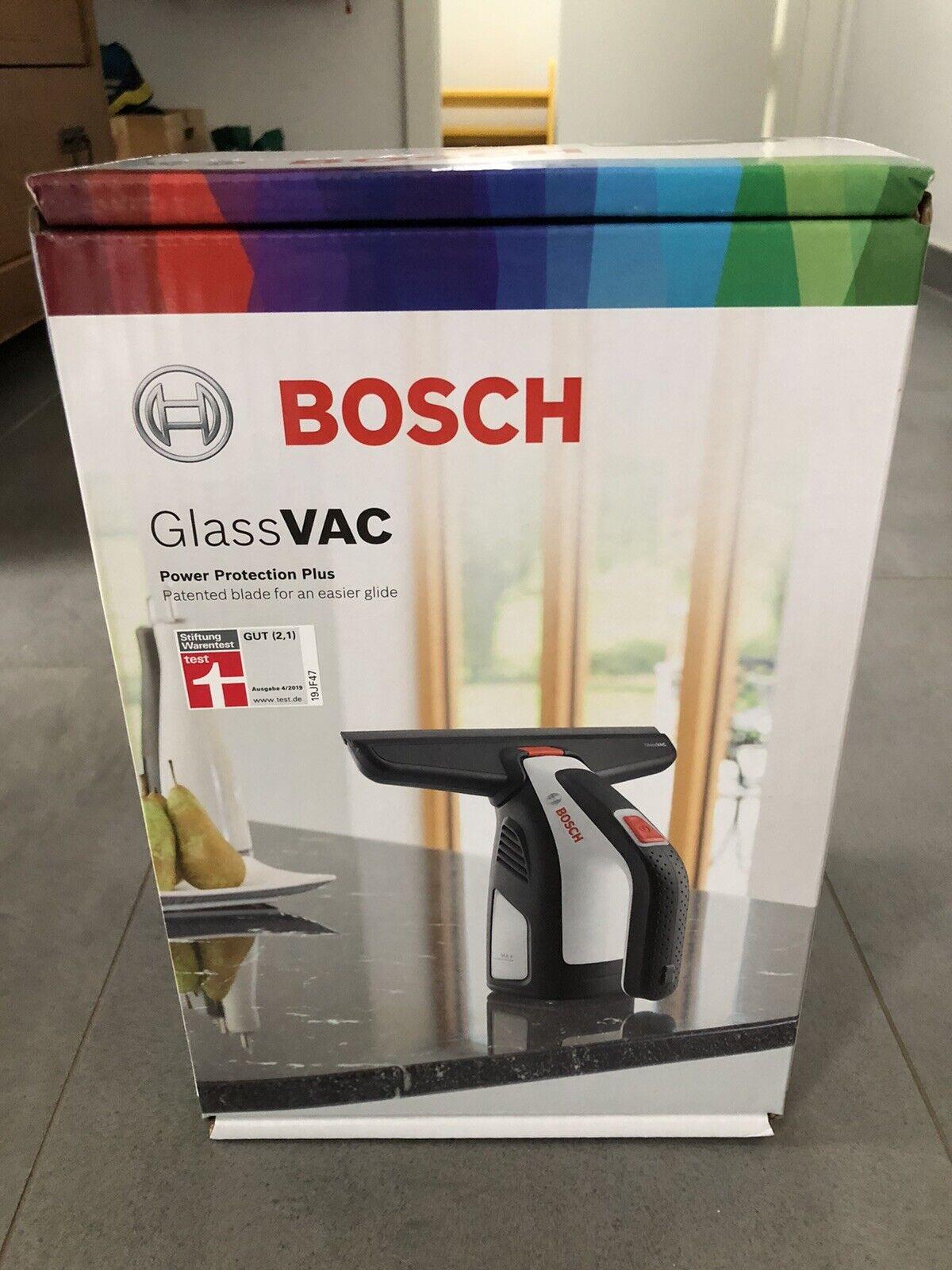 ORIGINAL BOSCH FENSTER-SAUGER SCHEIBEN REINIGER WIPER BLADE TECHNIK GLASSVAC