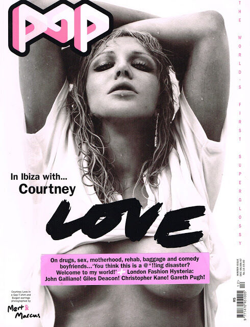 POP Magazine #14 COURTNEY LOVE Missy Rayder ELISE CROMBEZ John Galliano @MINT@