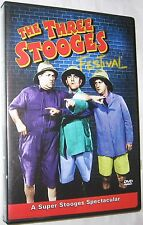 Three Stooges Festival - Five Shorts DVD, 2001 Comedy FREE SHIPPING U.S.A.
