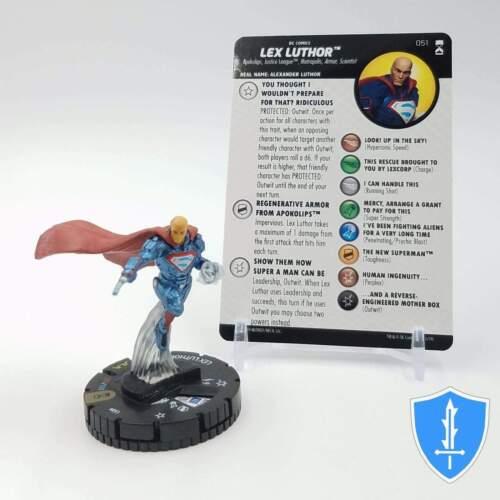 Lex Luthor - 051 DC Rebirth HeroClix Miniature Super Rare