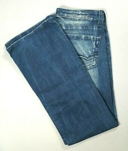 pour Boot moyenne coupe taille Jeans Big basse taille femmes taille 28 Star OREn4wq6