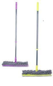 Bright-Colours-Double-Sided-Broom-Microfiber-Mop-Wet-Dry-Mop-Wood-Laminate-Floor