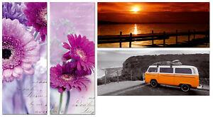 Leinwand-Bild-Dream-Romantik-ca-20x50x1-7-cm-Modern-Druck-in-4-Motiven